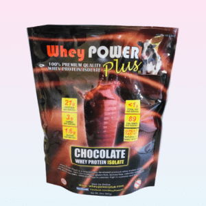 Whey Power Plus® Chocolate Whey Protein Isolate